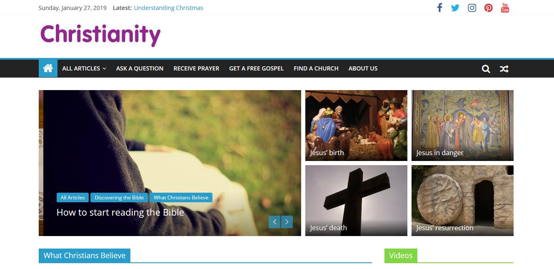 Christianity-website